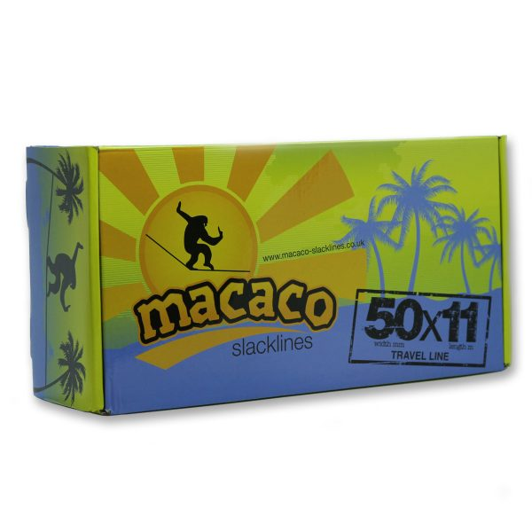 Macaco Travel Slackline front of box