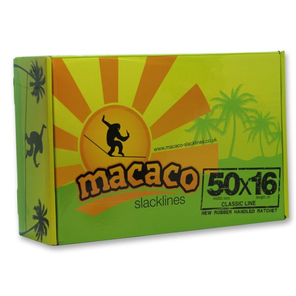 Macaco Classic Slackline front of box