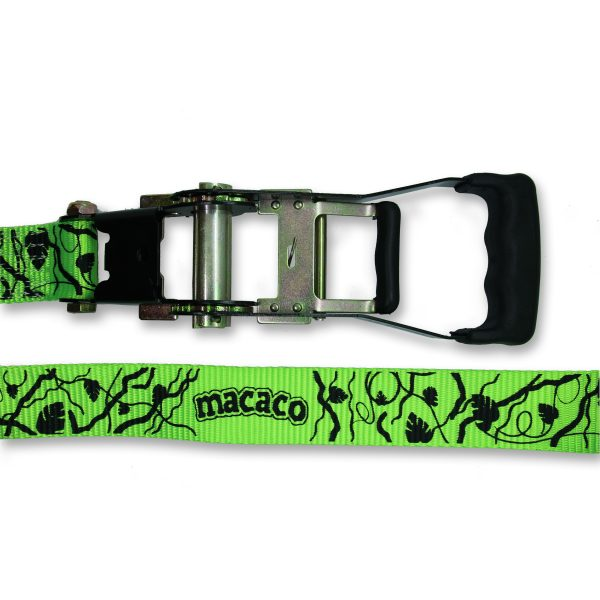 Macaco Classic Slackline ratchet and webbing