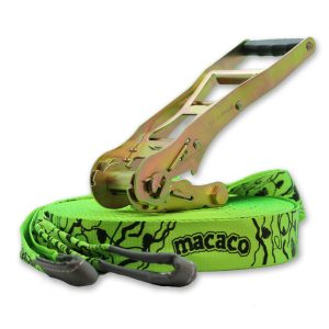 Macaco Long Slackline is 26m long and best selling long slackline on Amazon