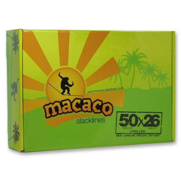 Macaco Long Slackline front of box