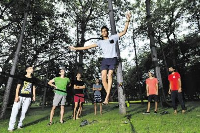 Slacklining is Growing in India